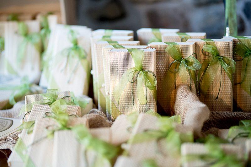 Bomboniere cartone fiocco