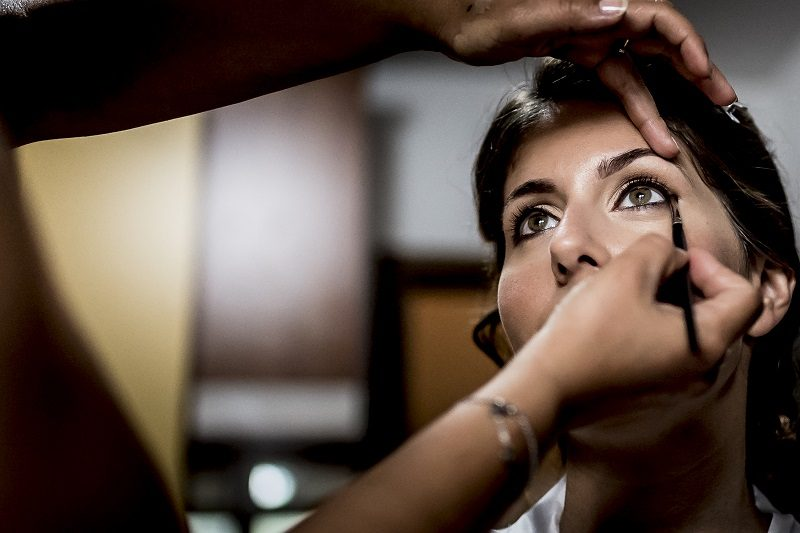 Makeup sposa occhi