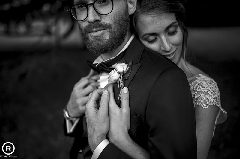 Foto sposi bianco nero