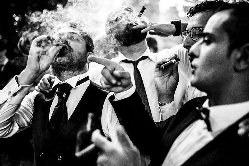 matrimonio angolo sigari