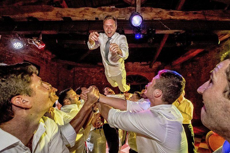 matrimonio lancio sposo