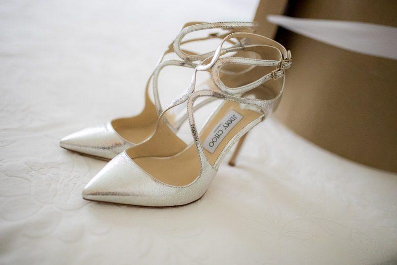 Jimmy Choo sposa argento