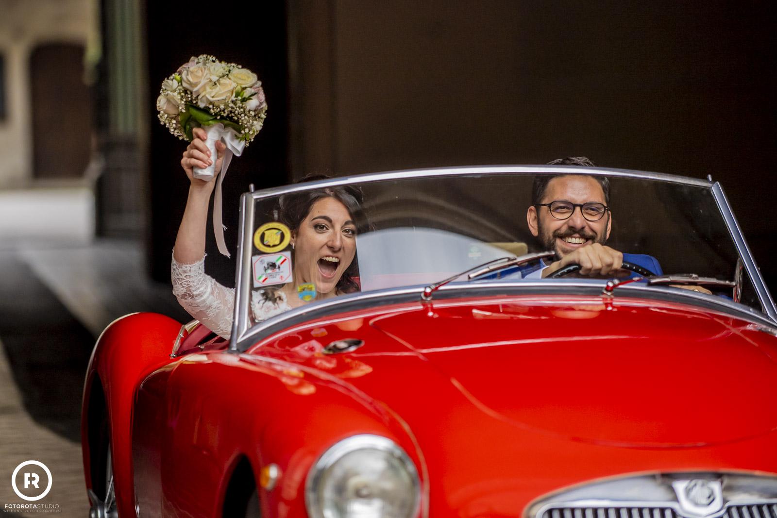 Foto da matrimonio sposo e sposa