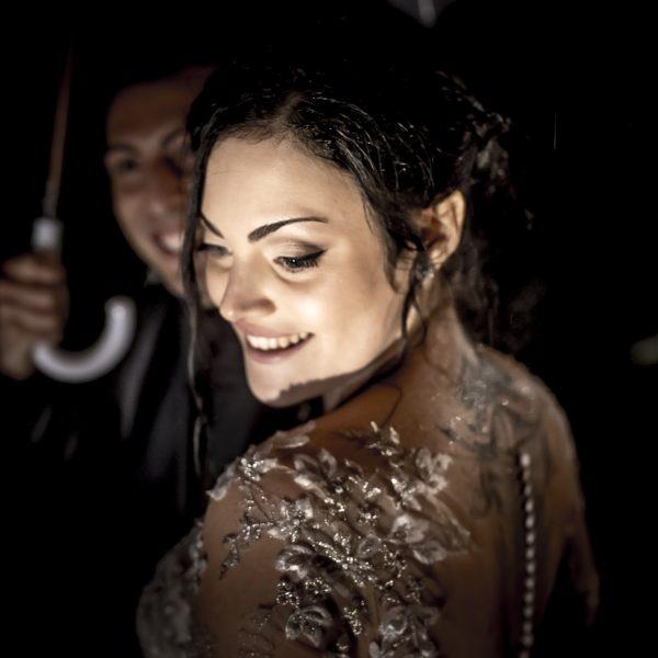 Le foto di matrimonio in un giorno di pioggia