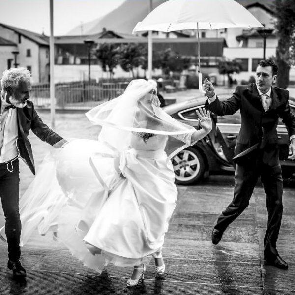 Matrimonio bagnato...