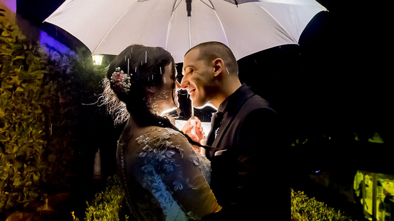 Sposarsi sotto la pioggia